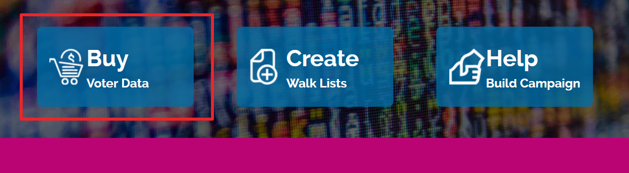 Buy voter data with walklists