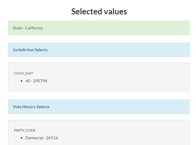 Selected-values-from-your-voter-list
